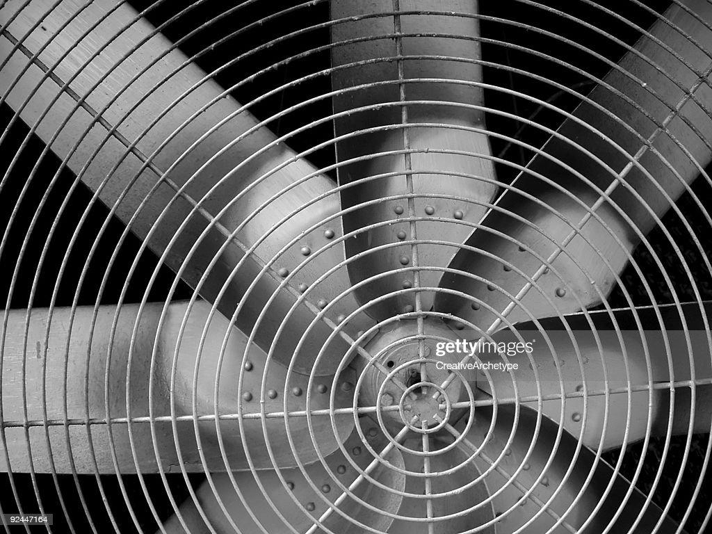 Industrial fan blades
