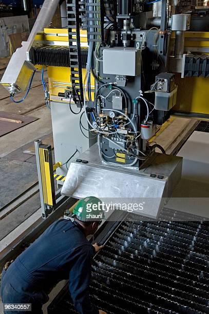Industrielle Laser-Arbeiter