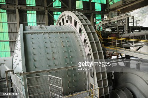 Industrial Machinery - Ball Mill