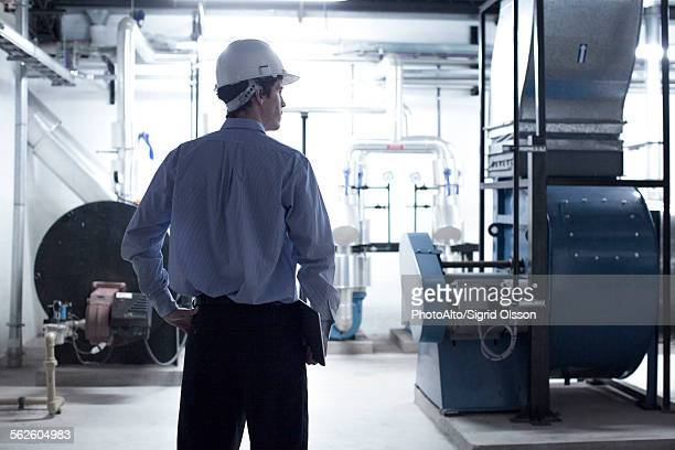 Industrial plant supervisor