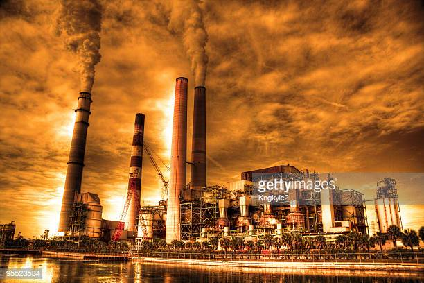 Industrial pollution effects global warming