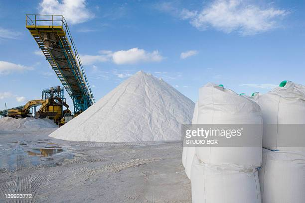 Industrial production of salt