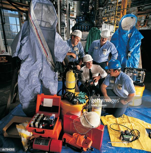 Industrial safety training session
