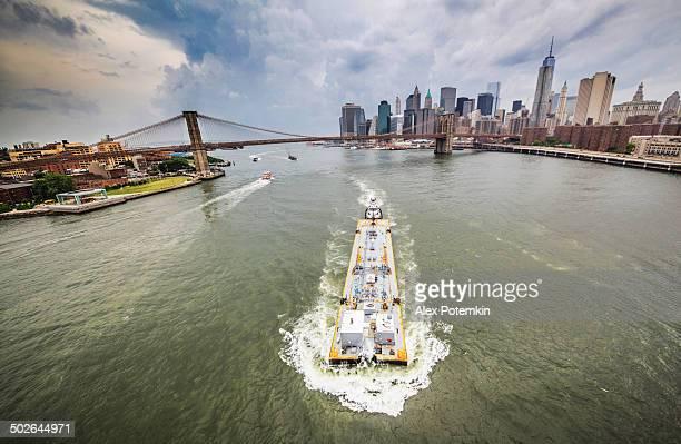 Navire de commerce de l'East River