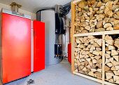 Modern heating room