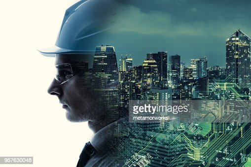 Industrial technology concept. INDUSTRY4.0 : Stock Photo