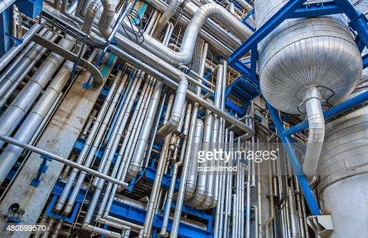Industrial tube : Stock Photo
