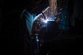 Industrial Welder With Torch
