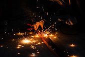 Construction Industry, Crude Oil, Factory, Fire - Natural Phenomenon, Flame