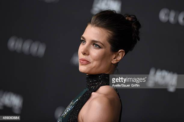 Industrialist Charlotte Casiraghi attends the 2014 LACMA Art Film Gala Honoring Barbara Kruger And Quentin Tarantino Presented By Gucci at LACMA on...