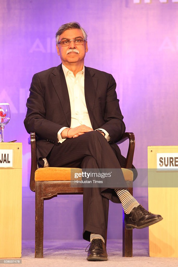 Industrialist Sunil Kant Munjal during the All India Management Association (AIMA)s Managing India Awards 2016 at Hotel Taj Palace in New Delhi, India.