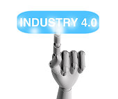 Industry 4.0 Button
