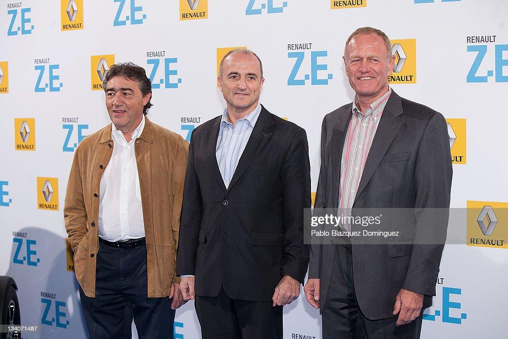 Celebrities Attend Twizy Parade Renault Presentation