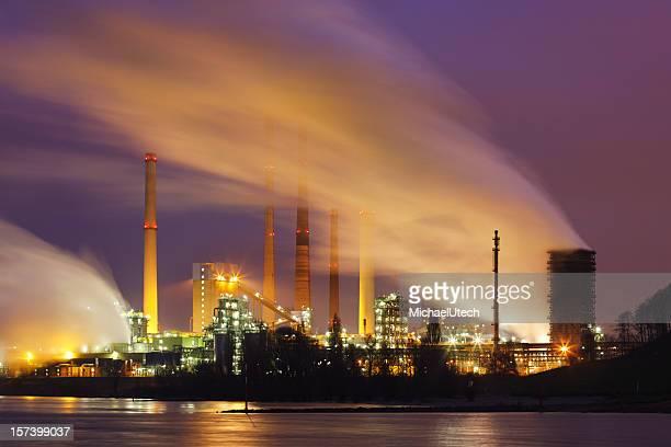 Industrie mit viel Dampf