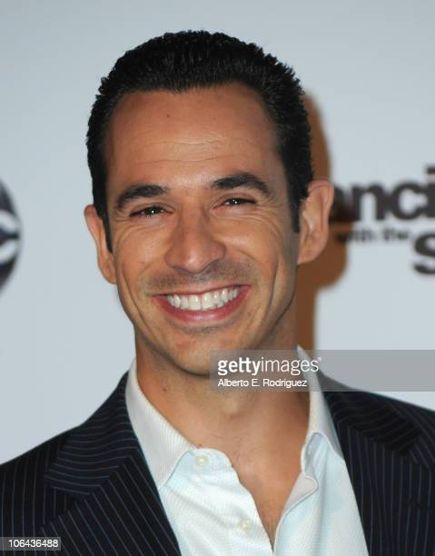 IndyCar driver Helio Castroneves arrives to ABC's 'Dancing With The Stars' 200th episode party on November 1 2010 in Los Angeles California