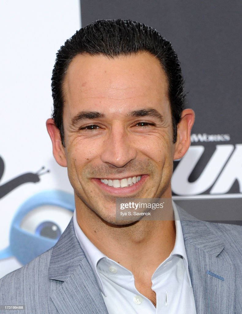 IndyCar driver Helio Castroneves attends the 'Turbo' New York Premiere at AMC Loews Lincoln Square on July 9, 2013 in New York City.