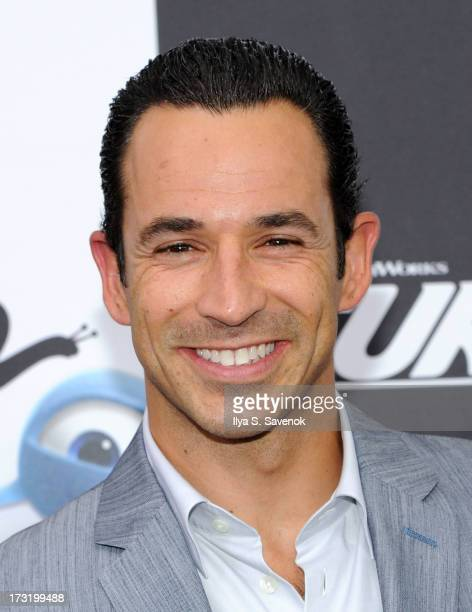 IndyCar driver Helio Castroneves attends the 'Turbo' New York Premiere at AMC Loews Lincoln Square on July 9 2013 in New York City