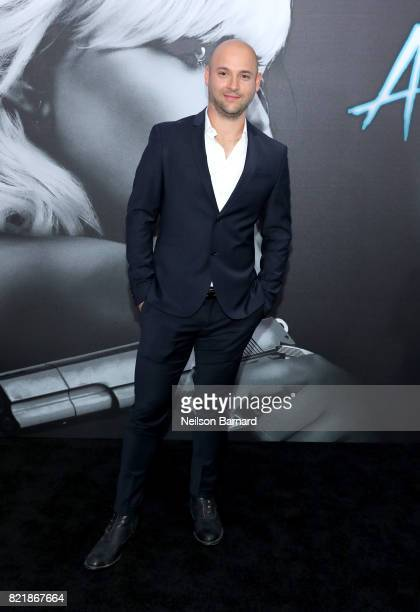 inematographer Jonathan Sela attends Focus Features' 'Atomic Blonde' premiere at The Theatre at Ace Hotel on July 24 2017 in Los Angeles California