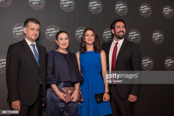 Ines Arrimadas attends the 2017 Premio Planeta award on October 15 2017 in Barcelona Spain