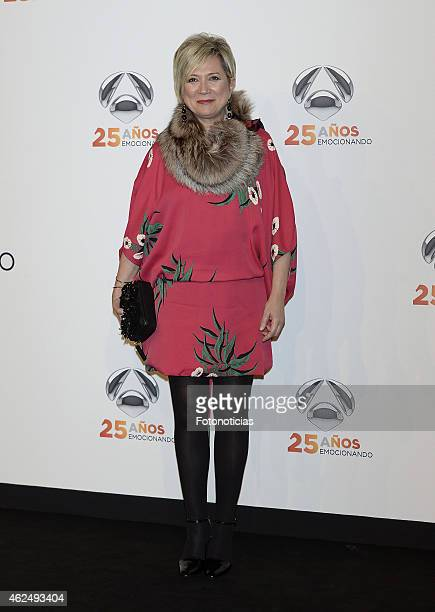Ines Ballester attends 'Antena 3' 25th Anniversary Reception at the Palacio de Cibeles on January 29 2015 in Madrid Spain