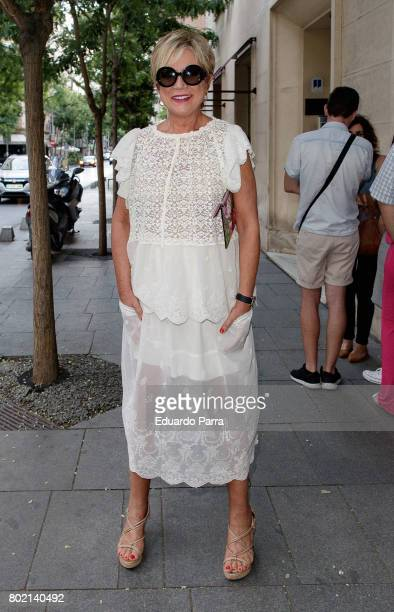 Ines Ballester attends the 'Corazon 20th anniversary' party at Alma club on June 27 2017 in Madrid Spain