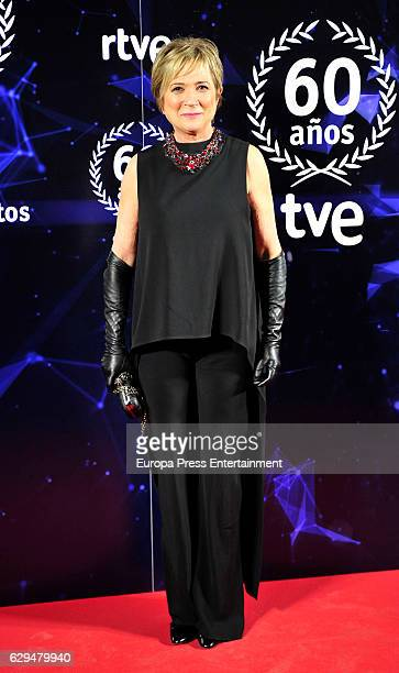 Ines Ballester attends to '60 Anos Juntos' TVE Gala Photocall on December 12 2016 in Madrid Spain