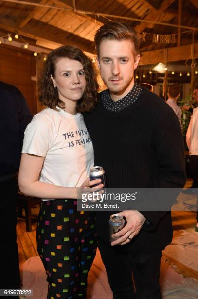 Ines De Clercq and Arthur Darvill attend an intimate Emeli Sande performance in Shoreditch to launch Airbnb Music Experiences with Sofar Sounds on...
