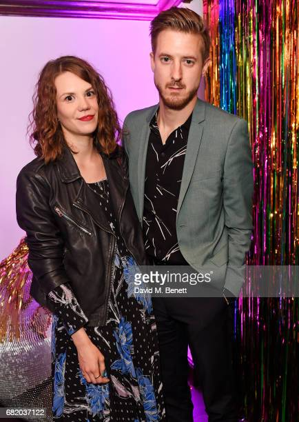 Ines De Clercq and Arthur Darvill attend the launch of The Curtain in Shoreditch on May 11 2017 in London England