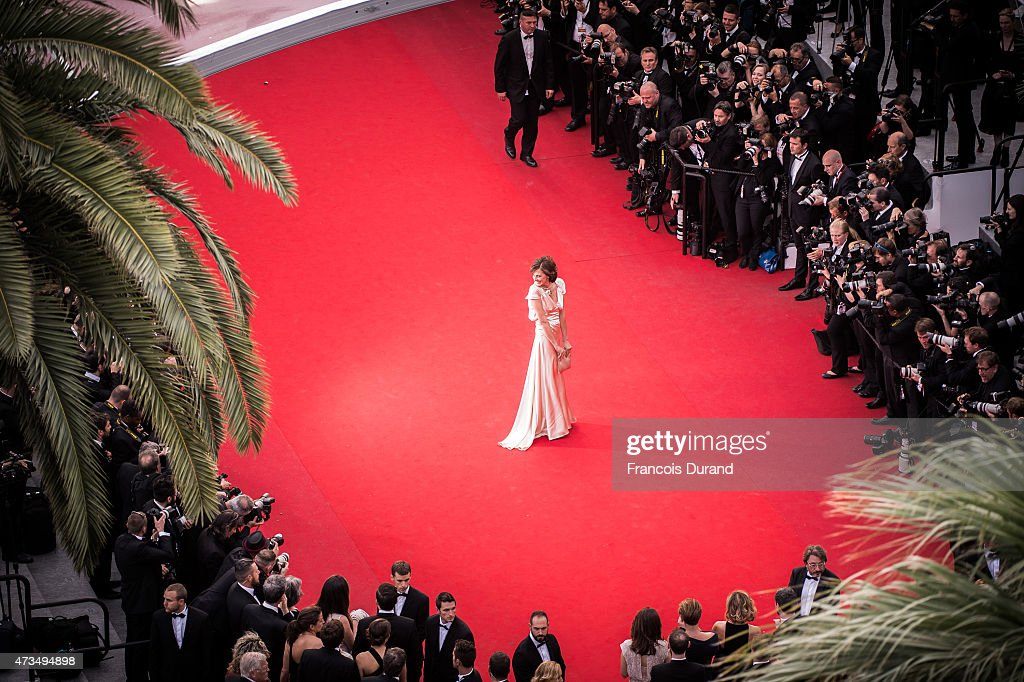 Ines de la Fressage attends the Premiere of 'Irrational Man' during the 68th annual Cannes Film Festival on May 15 2015 in Cannes France