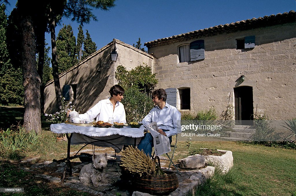 In s de la fressange getty images - Le petit jardin de yoyo monts avignon ...
