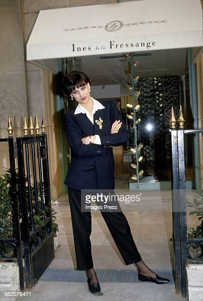 Inés De La Fressange Pictures and Photos | Getty Images