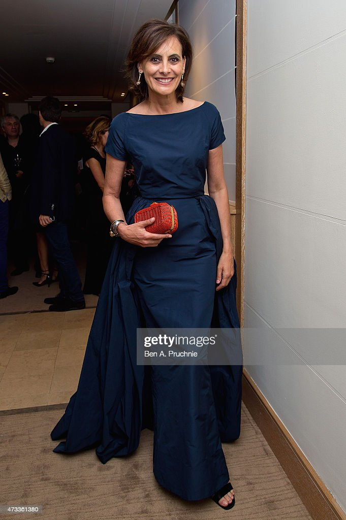Ines de La Fressange attends a party hosted by L'Oreal Paris UniFrance and Stylist during the 68th annual Cannes Film Festival on May 14 2015 in...