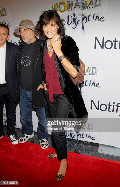 Ines De La Fressange attends an exhibition hosted by Notify at The Museum of Modern Art on September 15 2009 in New York City
