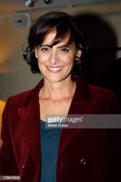 Ines de la Fressange attends 'Les Bien Aimes' Private Screening at Cinema du Pantheon on September 19 2011 in Paris France