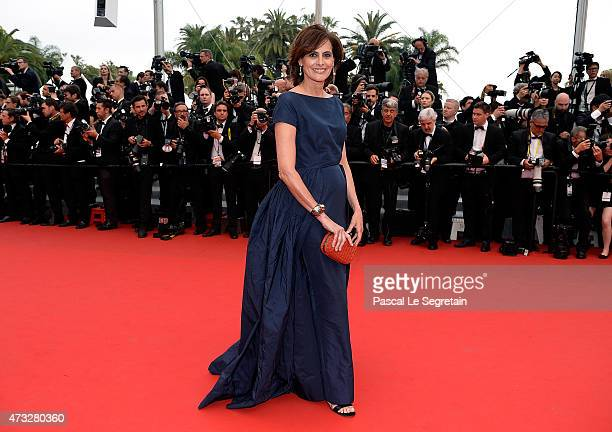 Ines de La Fressange attends Premiere of 'Mad Max Fury Road' during the 68th annual Cannes Film Festival on May 14 2015 in Cannes France