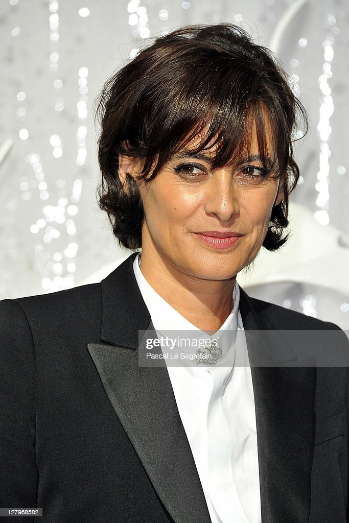 Ines de la Fressange attends the Chanel Ready to Wear Spring / Summer 2012 show during Paris Fashion Week at Grand Palais on October 4, 2011 in Paris, France.