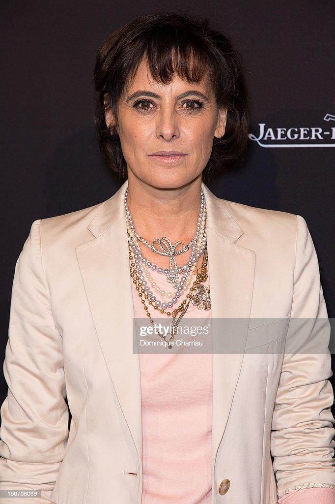 Ines de la Fressange attends the Jaeger-LeCoultre Place Vendome Boutique Opening at Jaeger-LeCoultre Boutique on November 20, 2012 in Paris, .