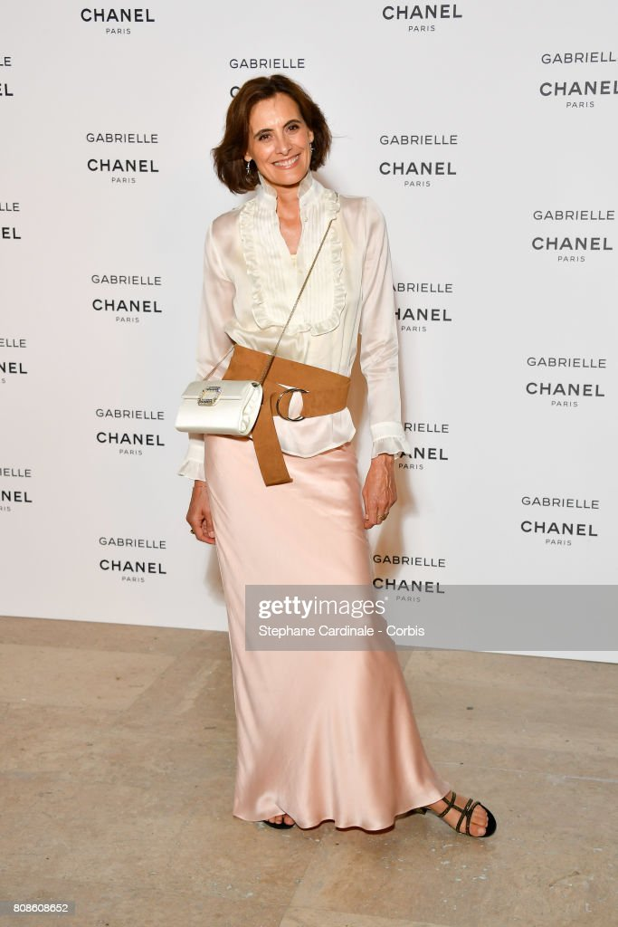 Ines de la Fressange attends the launch party for Chanel's new perfume 'Gabrielle' as part of Paris Fashion Week on July 4, 2017 in Paris, France.