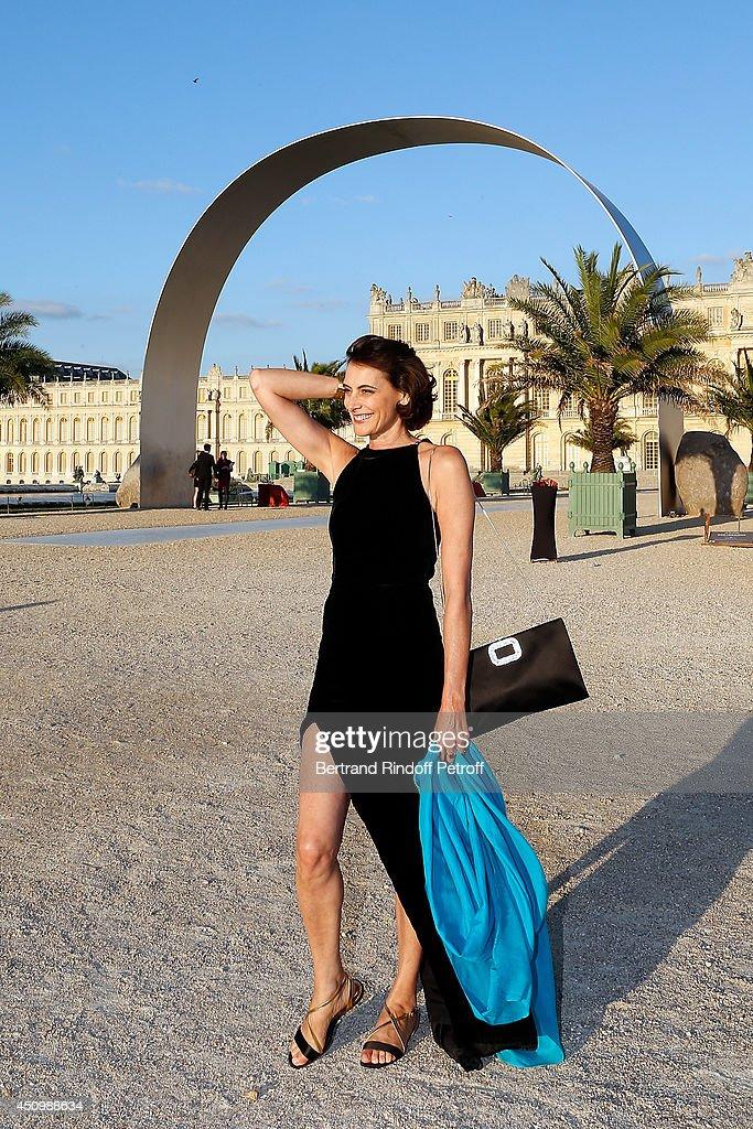 Ines de la Fressange attends the L'Oreal Gala Evening 2014 at Chateau de Versailles on June 20, 2014 in Versailles, France.