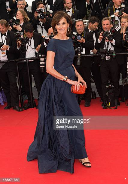 Ines de la Fressange attends the 'Mad Max Fury Road' Premiere during the 68th annual Cannes Film Festival on May 14 2015 in Cannes France