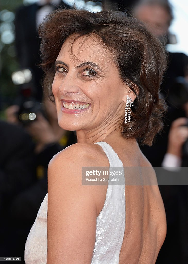 Ines de La Fressange attends the 'MrTurner' Premiere at the 67th Annual Cannes Film Festival on May 15 2014 in Cannes France