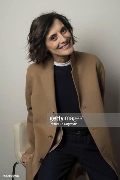 Ines De la Fressange attends the Paris Luxury Summit 2017 at Theatre Des Sablons on December 12 2017 in NeuillysurSeine France
