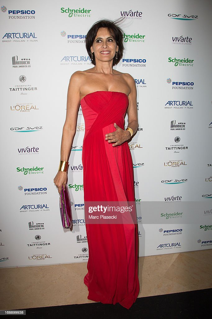 <a gi-track='captionPersonalityLinkClicked' href=/galleries/search?phrase=Ines+de+la+Fressange&family=editorial&specificpeople=2078500 ng-click='$event.stopPropagation()'>Ines de la Fressange</a> attends the 'Planet Finance' dinner photocall at the 'Carlton' hotel during the 66th annual Cannes Film Festival on May 16, 2013 in Cannes, France.