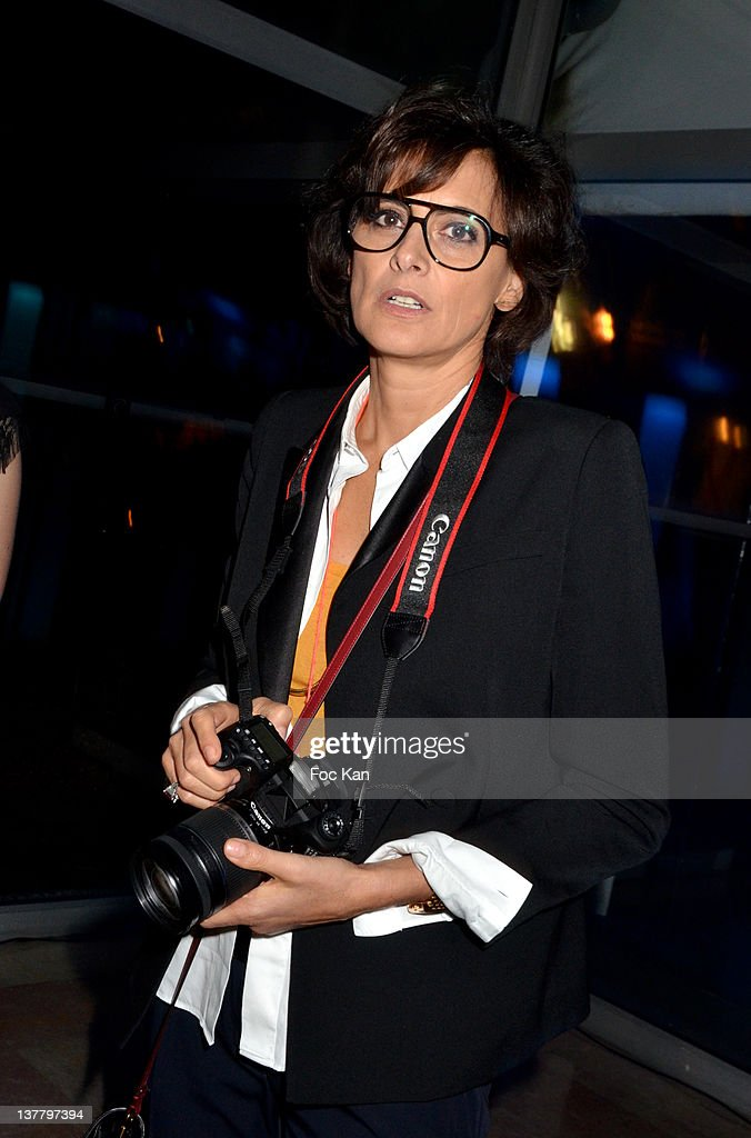Ines de La Fressange attends the Sidaction Gala Dinner 2012 at the Pavillon d'Armenonville on January 26, 2012 in Paris, France.