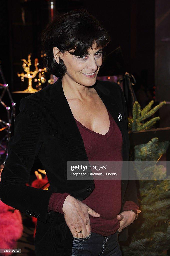 Ines De La Fressange during 'Les Sapins de Noel des Createurs' in Paris.