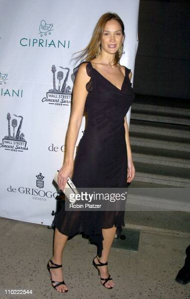 Ines Rivero during The 2005 Wall Street Concert Series Benefiting Wall Street Rising Starring Rod Stewart at Ciprianis Wall Street in New York City...