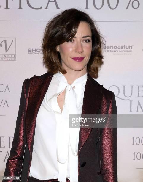 Ines Sainz attends the 'Lo Que De Verdad Importa' premiere at the Hotel Vincci Capitol on February 15 2017 in Madrid Spain