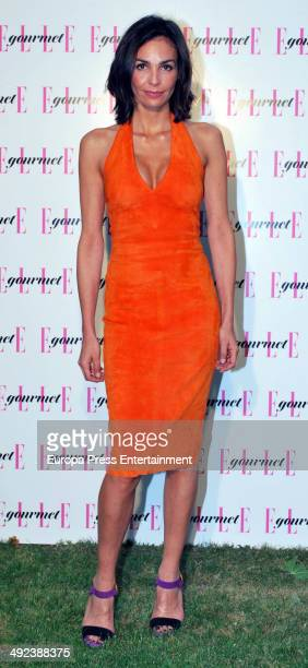 Ines Sastre attends Elle Gourmet at the Italian Embassy on May 19 2014 in Madrid Spain