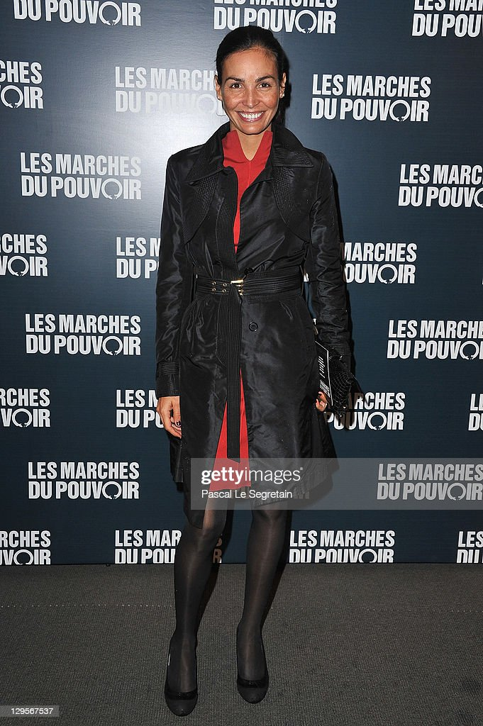 Ines Sastre attends 'The Ides of March'Paris Premiere at Cinema UGC Normandie on October 18 2011 in Paris France