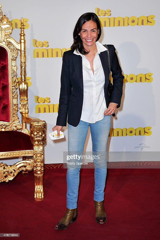 <a gi-track='captionPersonalityLinkClicked' href=/galleries/search?phrase=Ines+Sastre&family=editorial&specificpeople=206220 ng-click='$event.stopPropagation()'>Ines Sastre</a> attends the 'Les Minions' Paris Premiere at Le Grand Rex on June 23, 2015 in Paris, France.